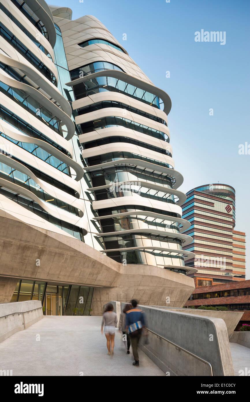 Jockey club torre di innovazione hong kong cina architetto zaha hadid architects 2014 - Hadid architetto ...