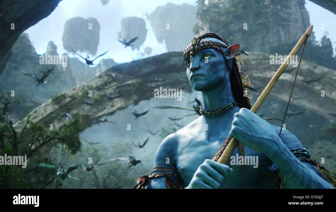 AVATAR (2009) Sam Worthington James Cameron (DIR) RACCOLTA MOVIESTORE LTD Immagini Stock