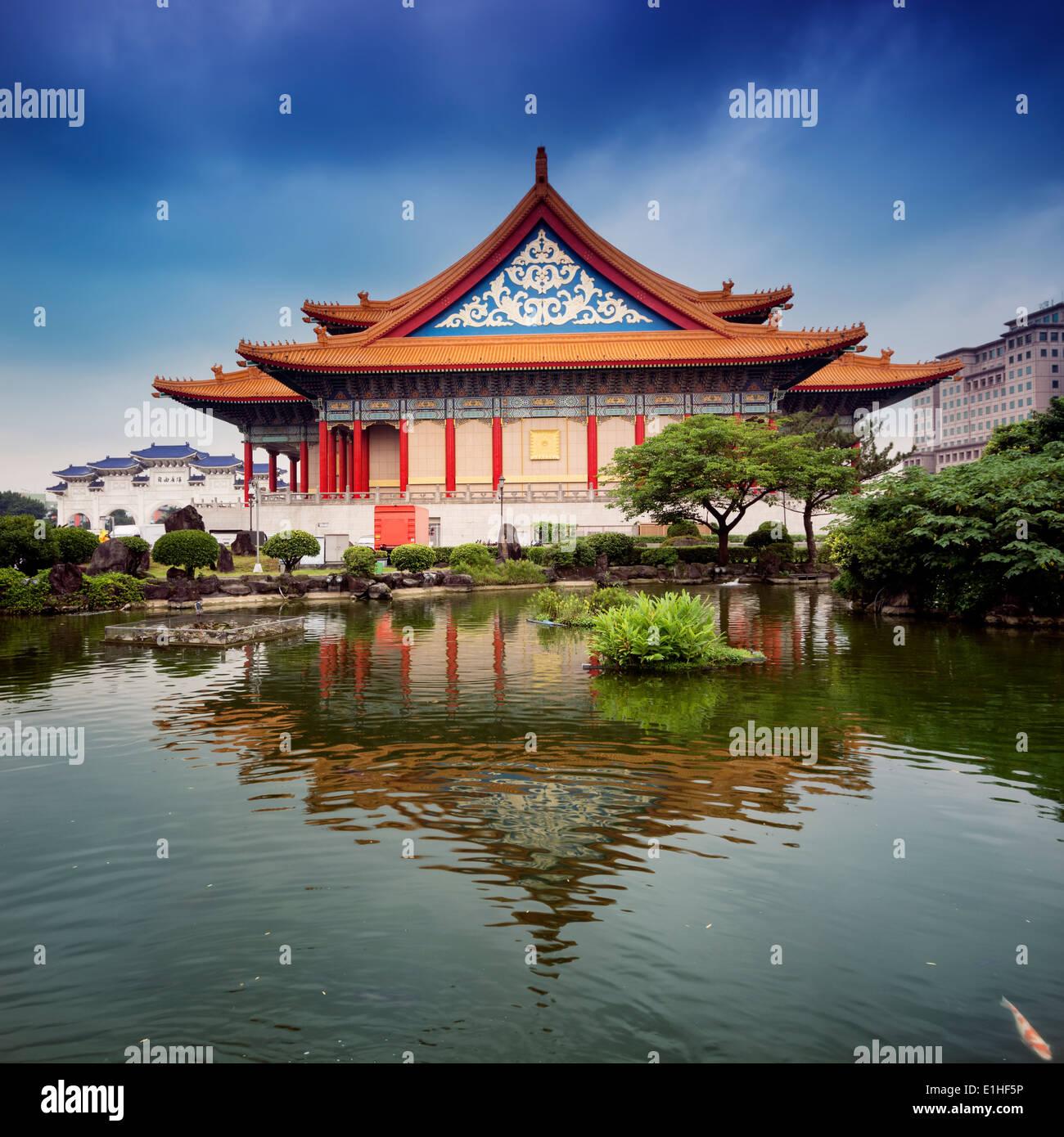 La National Concert Hall di Taipei - Taiwan. Immagini Stock