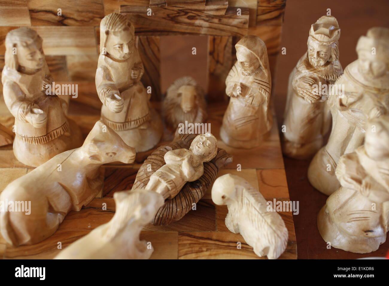 Presepi Di Legno Betlemme : In legno intagliato chiesa icona presepe su legno betlemme arte da