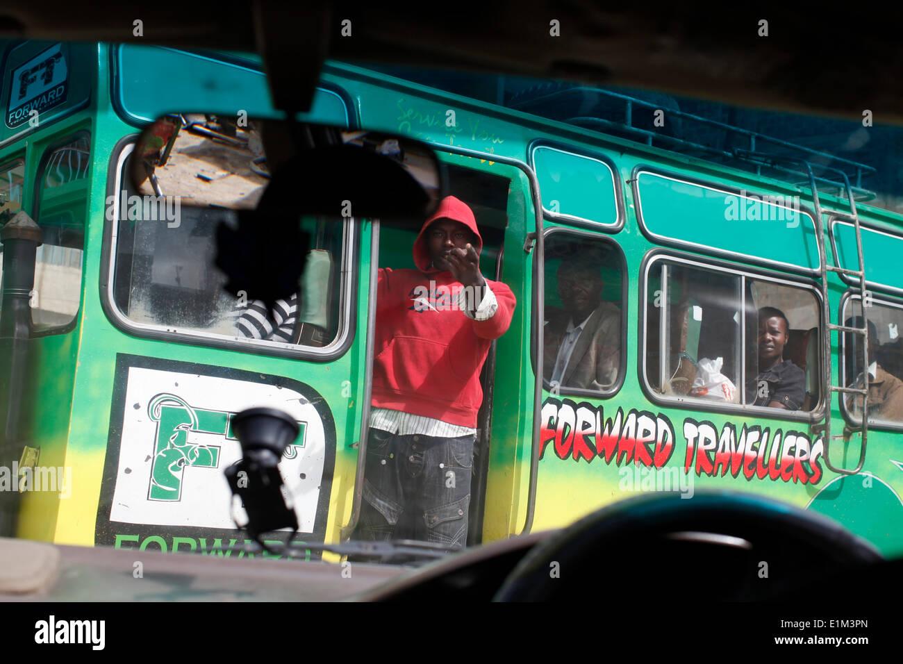 Trasporto di Nairobi Immagini Stock