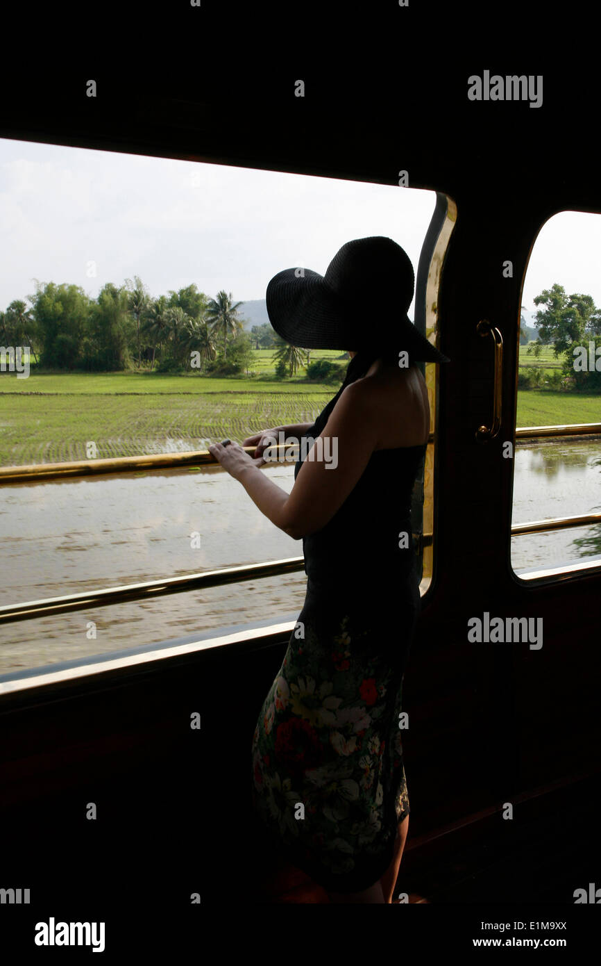 Eastern & Oriental Express treno passeggero Immagini Stock