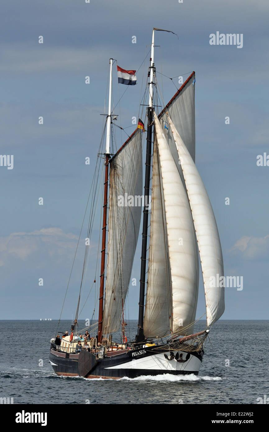 Tradizionale nave a vela Pegasus Immagini Stock