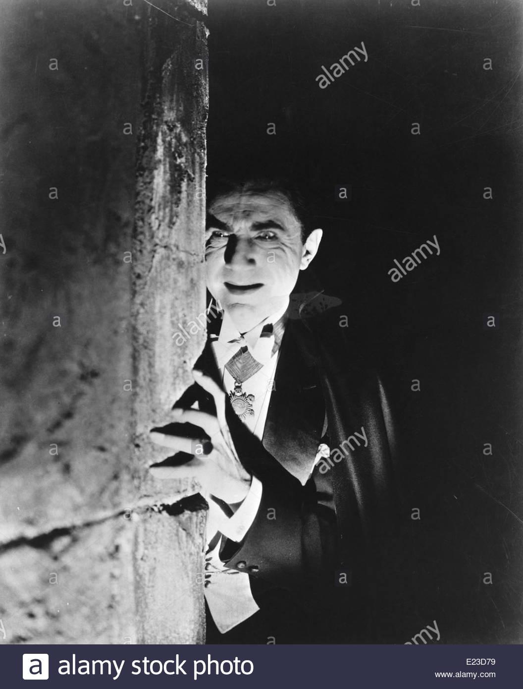 Bela Lugosi come Dracula, 1931, diretto da Tod Browning. Foto cortesia gentilezza Granamour Weems collezione. Immagini Stock