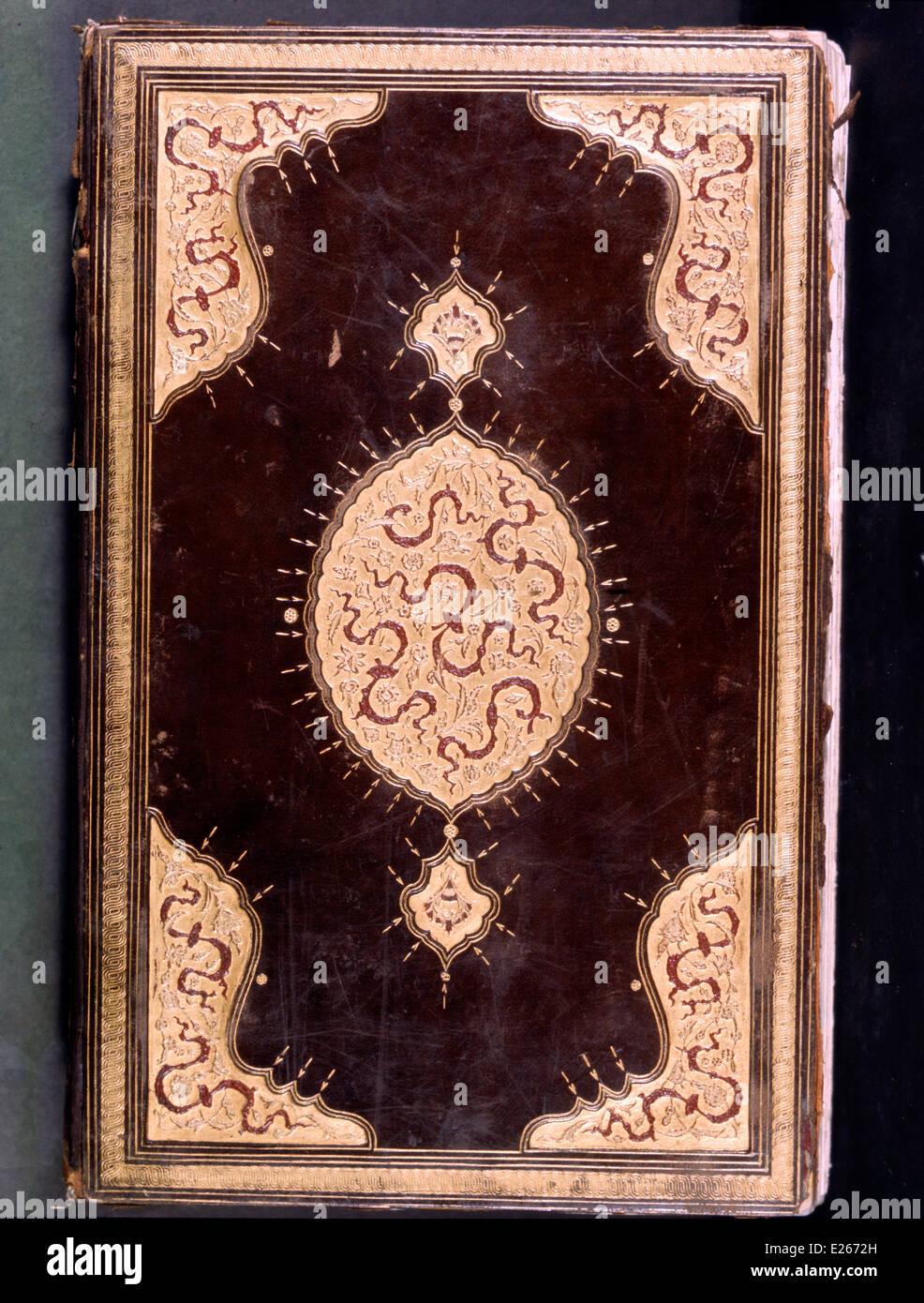 Manoscritto della gesta di Solimano il Magnifico,xvi secolo,istanbul,topkapi Immagini Stock