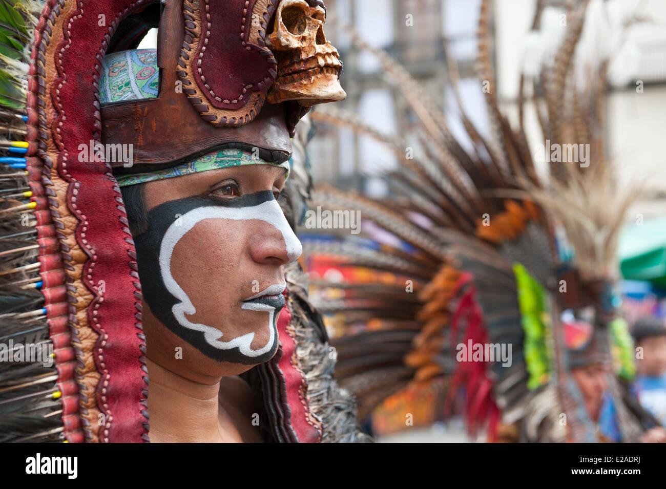 Messico, del Distretto Federale di Città del Messico, centro storico sono classificati come patrimonio mondiale Immagini Stock