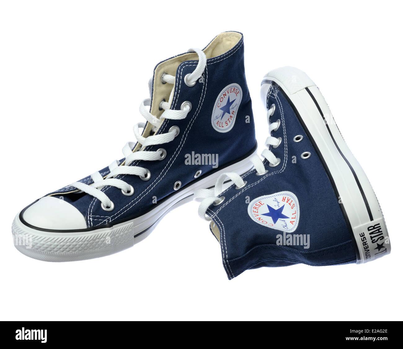 Converse Shoes Immagini e Fotos Stock - Alamy