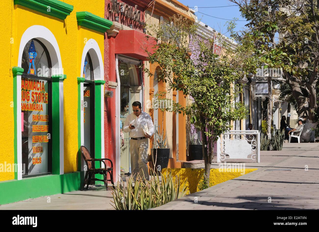 Messico, Baja California Sur Membro, San Jose del Cabo Immagini Stock