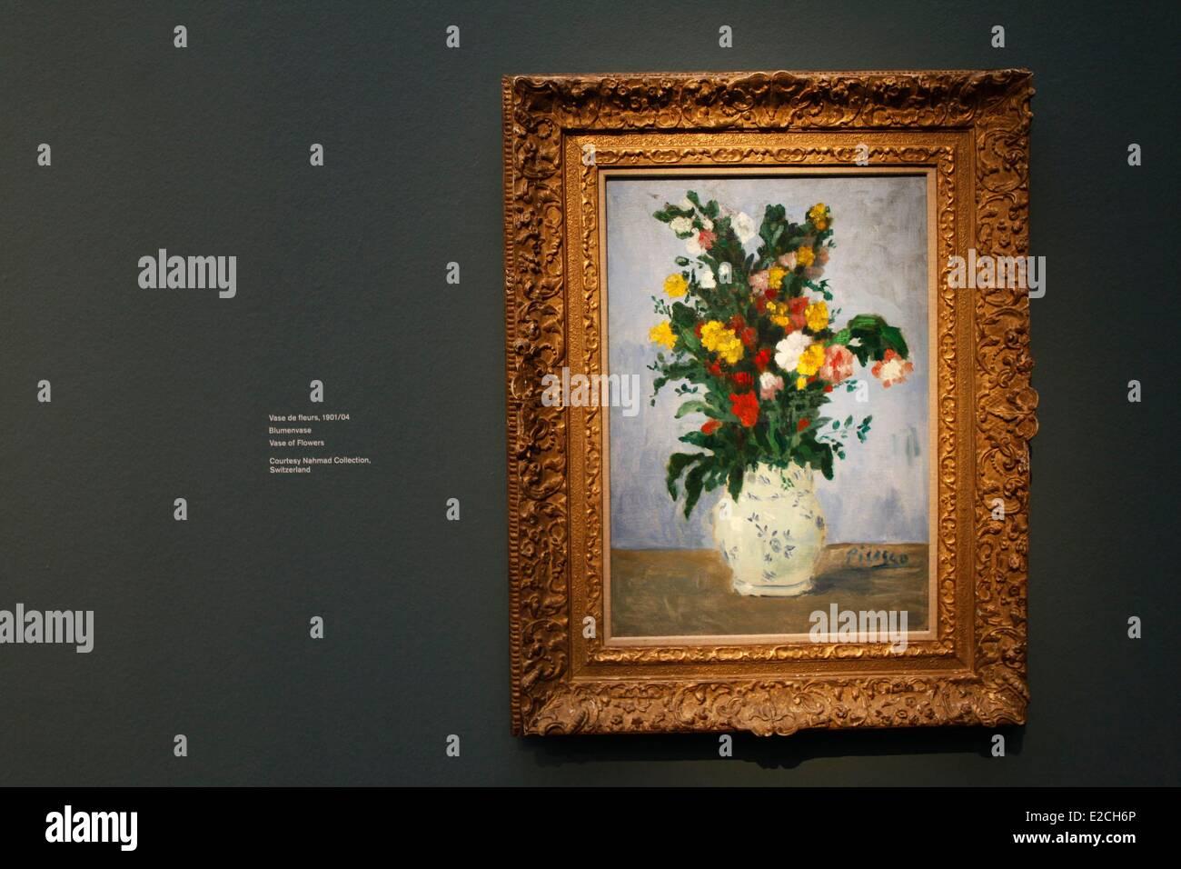 Svizzera, Zurigo, il Kunsthaus Art Museum, Picasso, ispirato alla prima mostra nel 1932 Immagini Stock