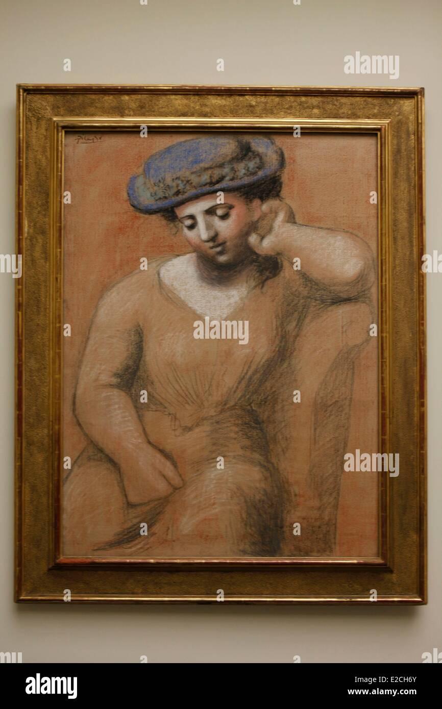 La Svizzera, Zurigo, Kunsthaus (Museo di Arte Moderna), la pittura di Picasso Immagini Stock