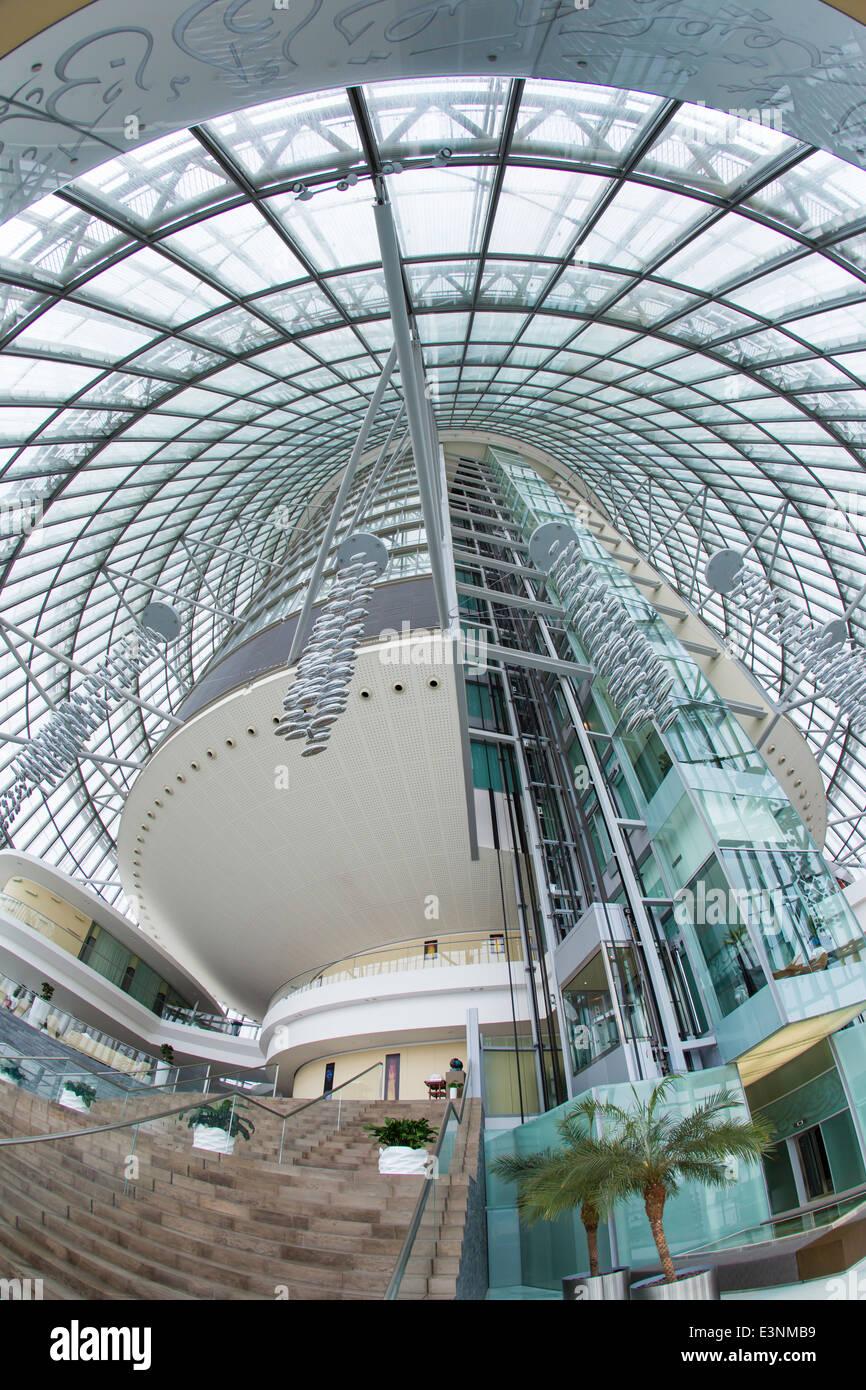Il Qatar Doha, interno, la torcia Hotel Immagini Stock