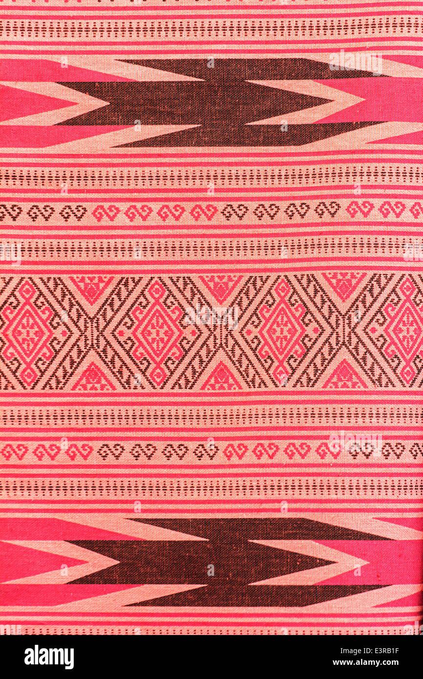 Batik tradizionali sarong pattern per uno sfondo Immagini Stock