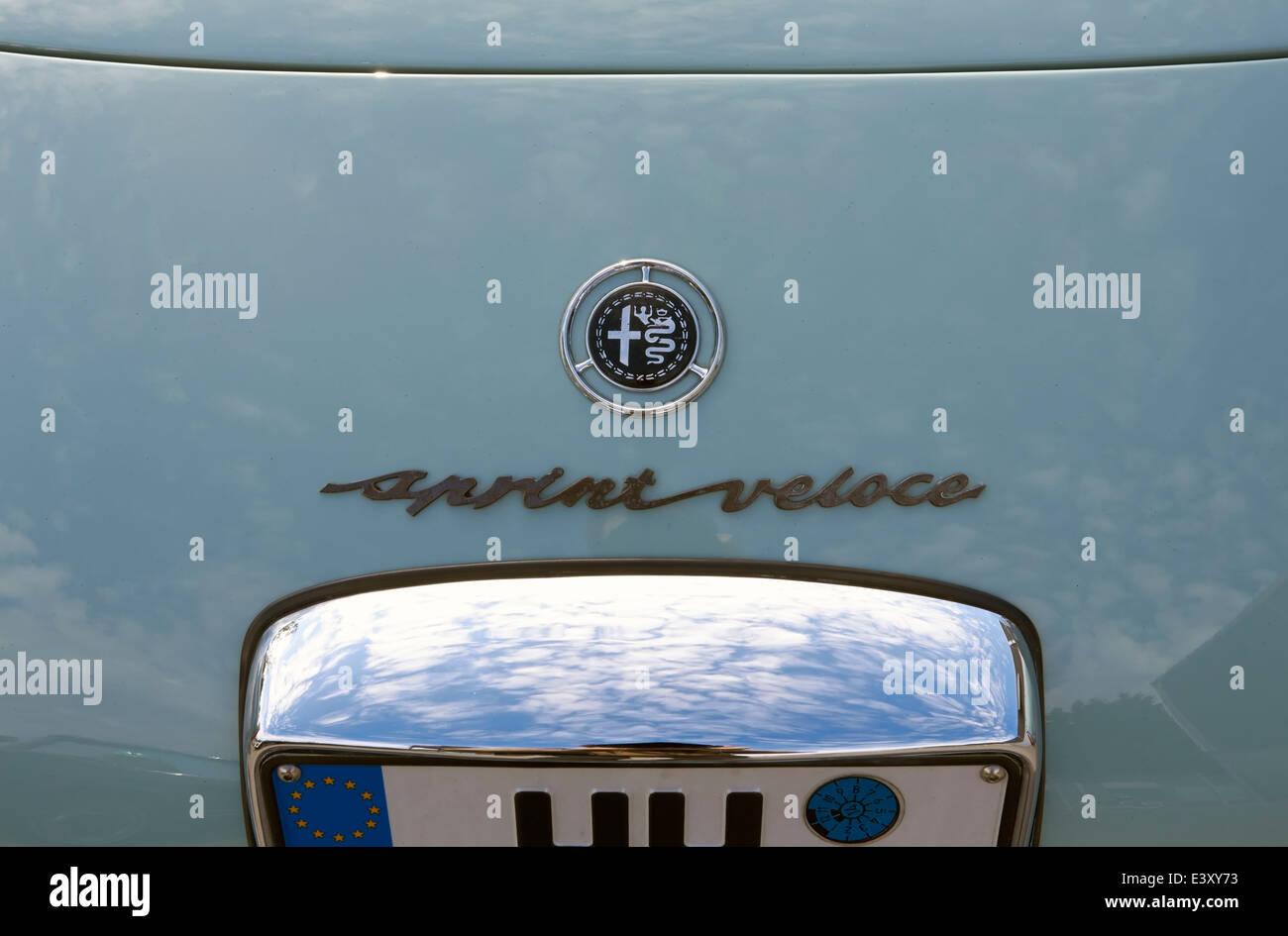 1960 Alfa Romeo Giulietta sprint veloce Immagini Stock