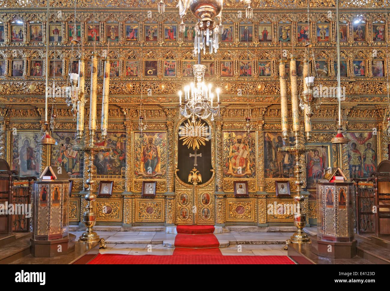 Turchia, Istanbul, Fatih, Chiesa di San Giorgio Foto stock - Alamy