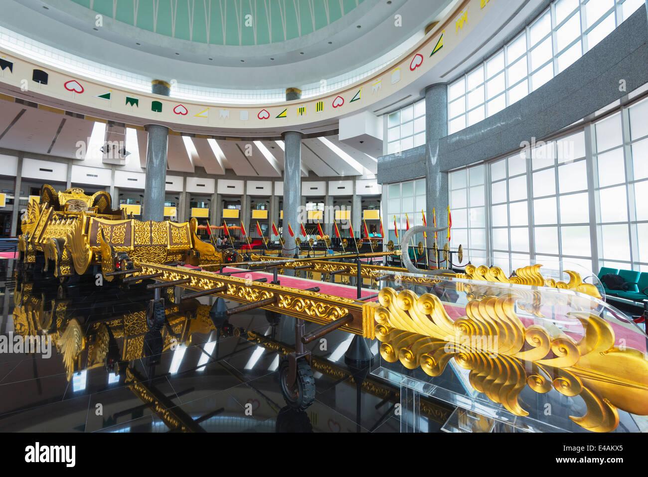 Il Sud Est Asiatico, Regno del Brunei Bandar Seri Begawan, Royal Regalia Museum Immagini Stock