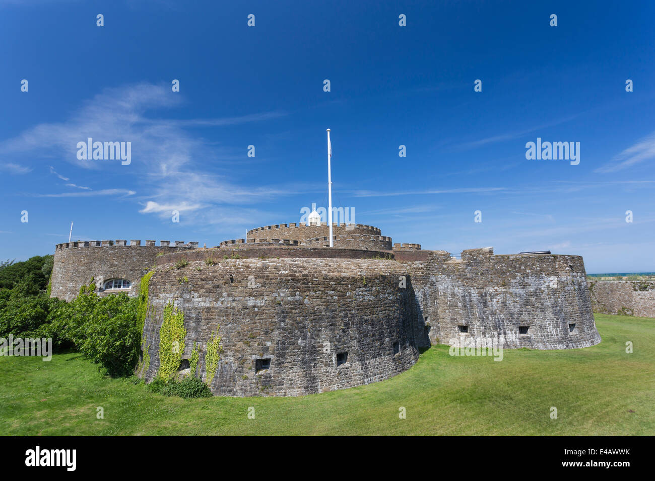 Deal Castle Kent Immagini Stock