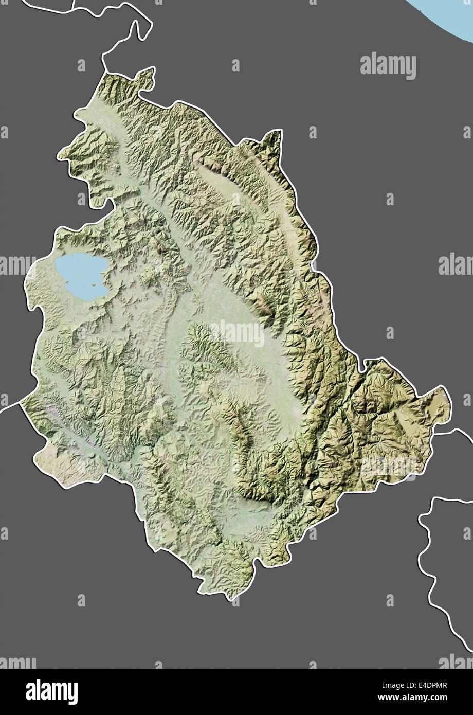 Puglia Cartina Stradale E Visione Satellitare.Map Satellite Geography Italy Immagini E Fotos Stock Alamy