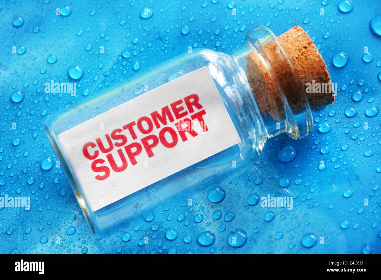 Supporto clienti Immagini Stock
