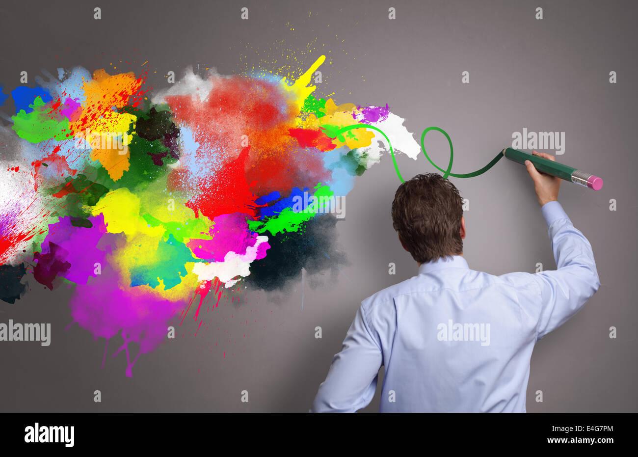 Azienda creativa Immagini Stock