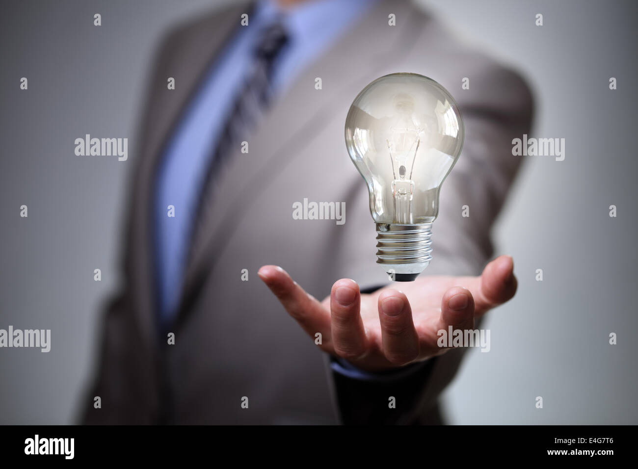Idea di business Immagini Stock