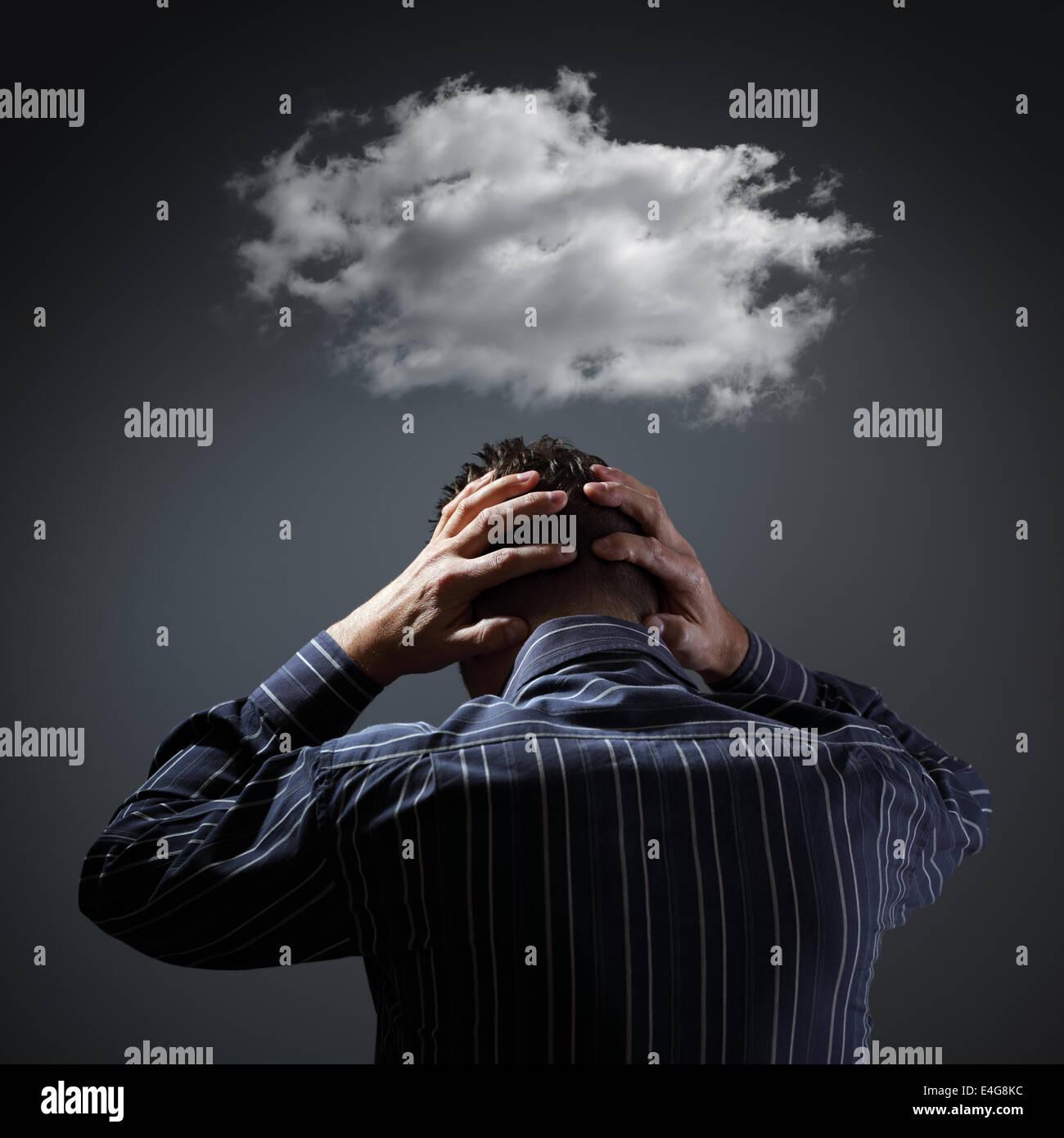 Depressione Foto Stock