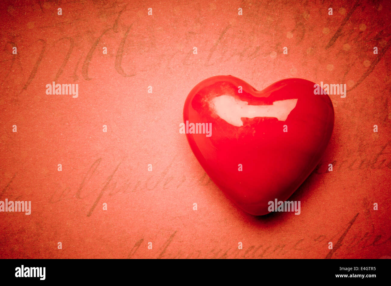 Forma di cuore, il concetto di amore Immagini Stock