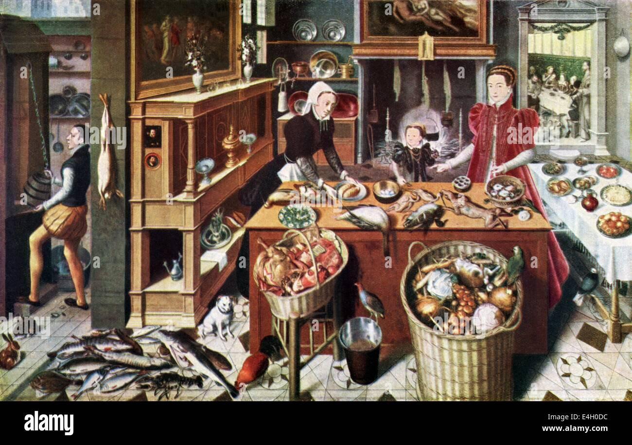 Stampe Da Cucina : Gastronomia cucina cucina e sala di preparazione stampa dopo la