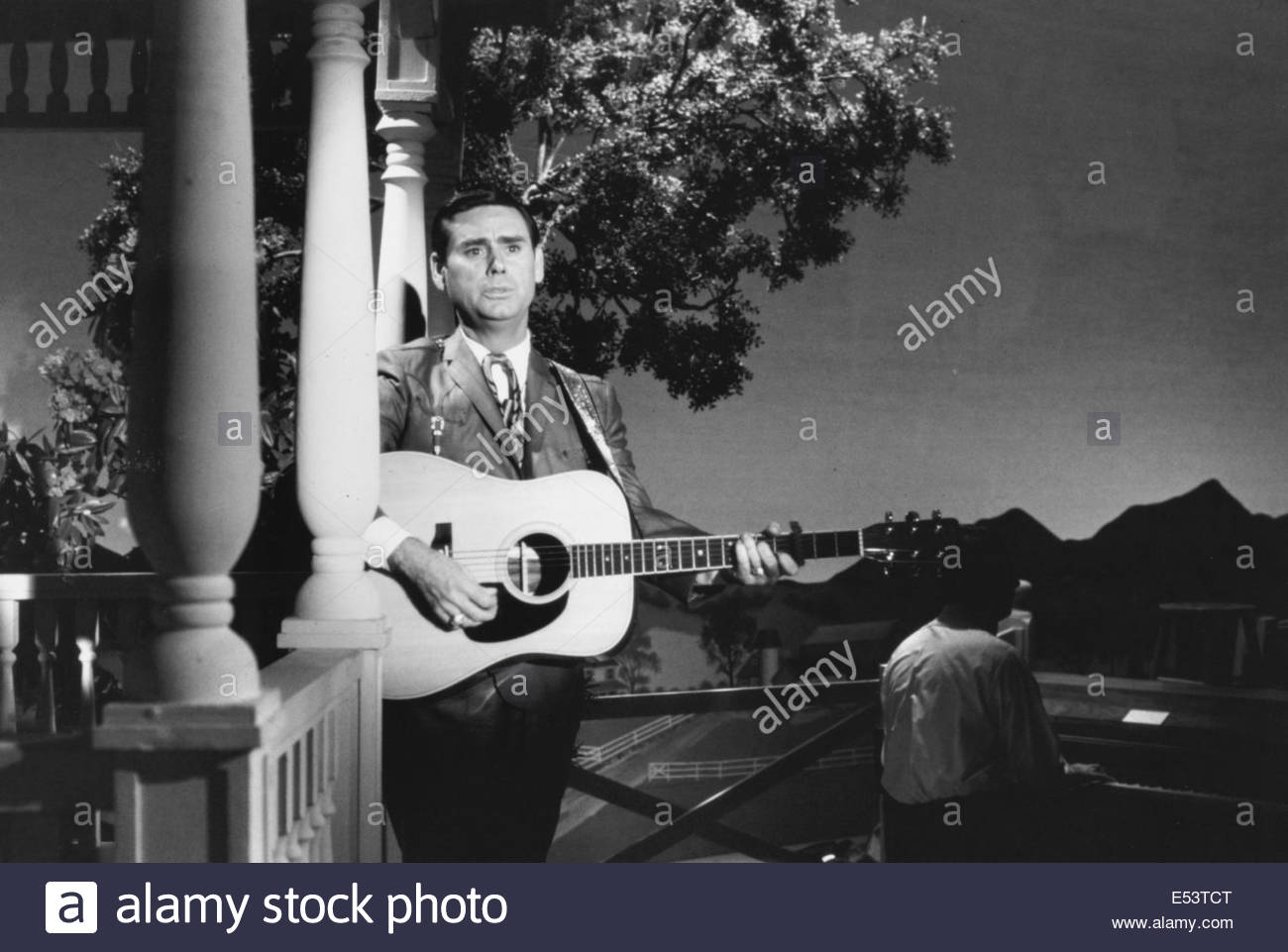 George Jones, cantante country, circa sessanta. La cortesia Granamour Weems collezione. Solo uso editoriale. Immagini Stock