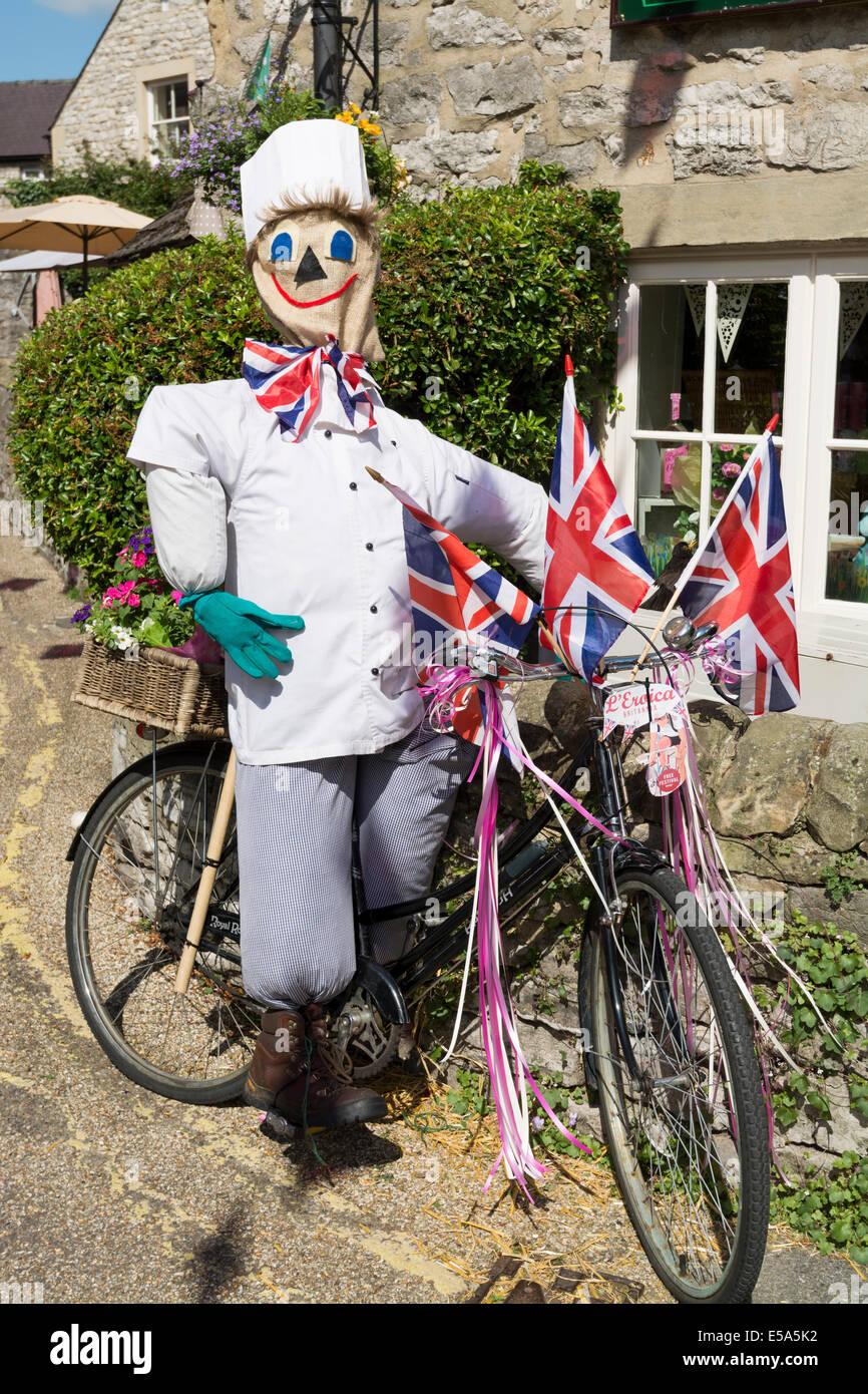 L'Eroica Britannia un ciclo e lo stile di vita vintage evento tenutosi in Bakewell Derbyshire Peak District Immagini Stock