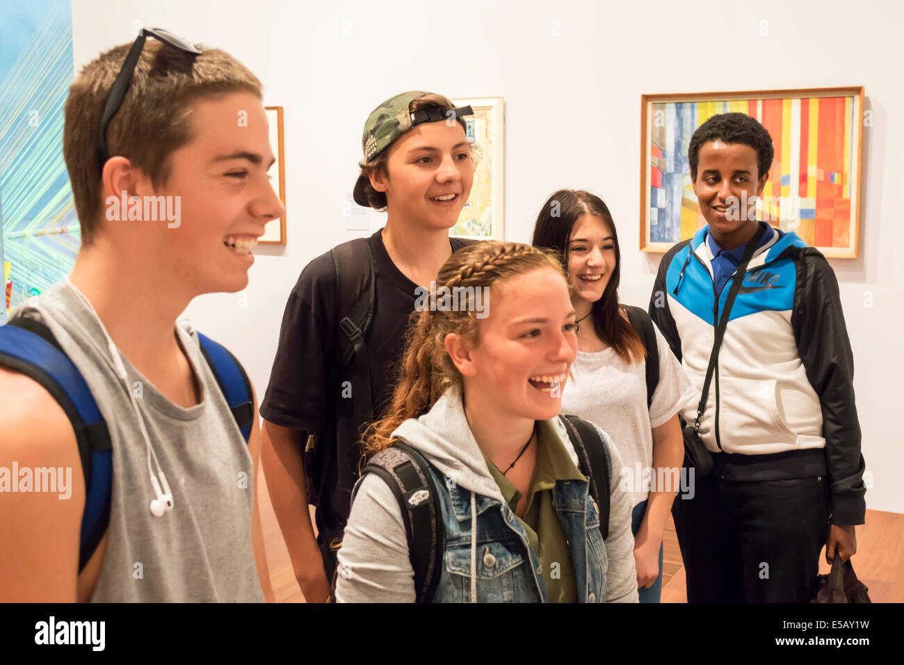 Teenager galleria libera