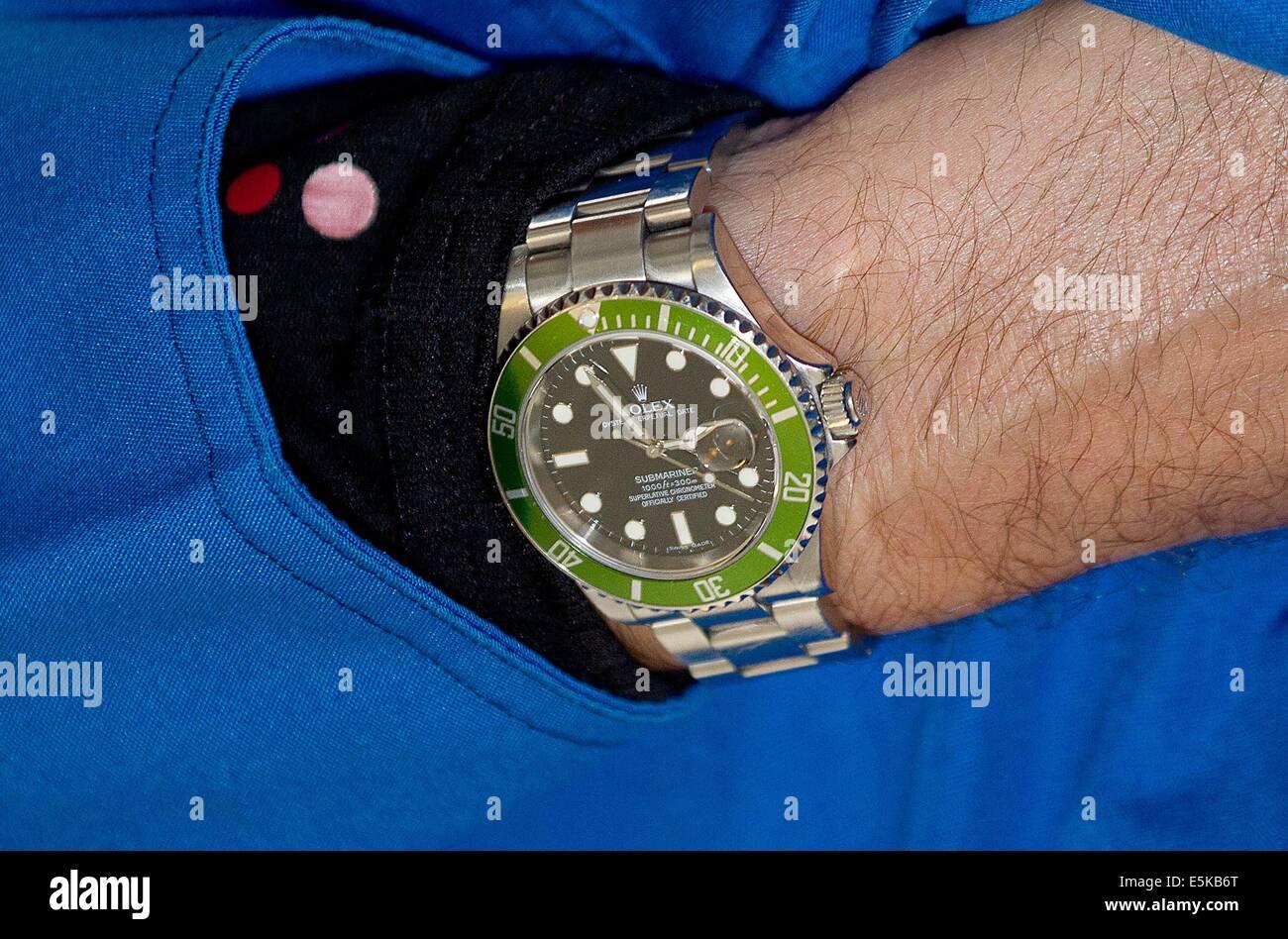 271ef75331c599 Igaliko, 01-08-2014 L'orologio Rolex del Principe Ereditario Frederik,