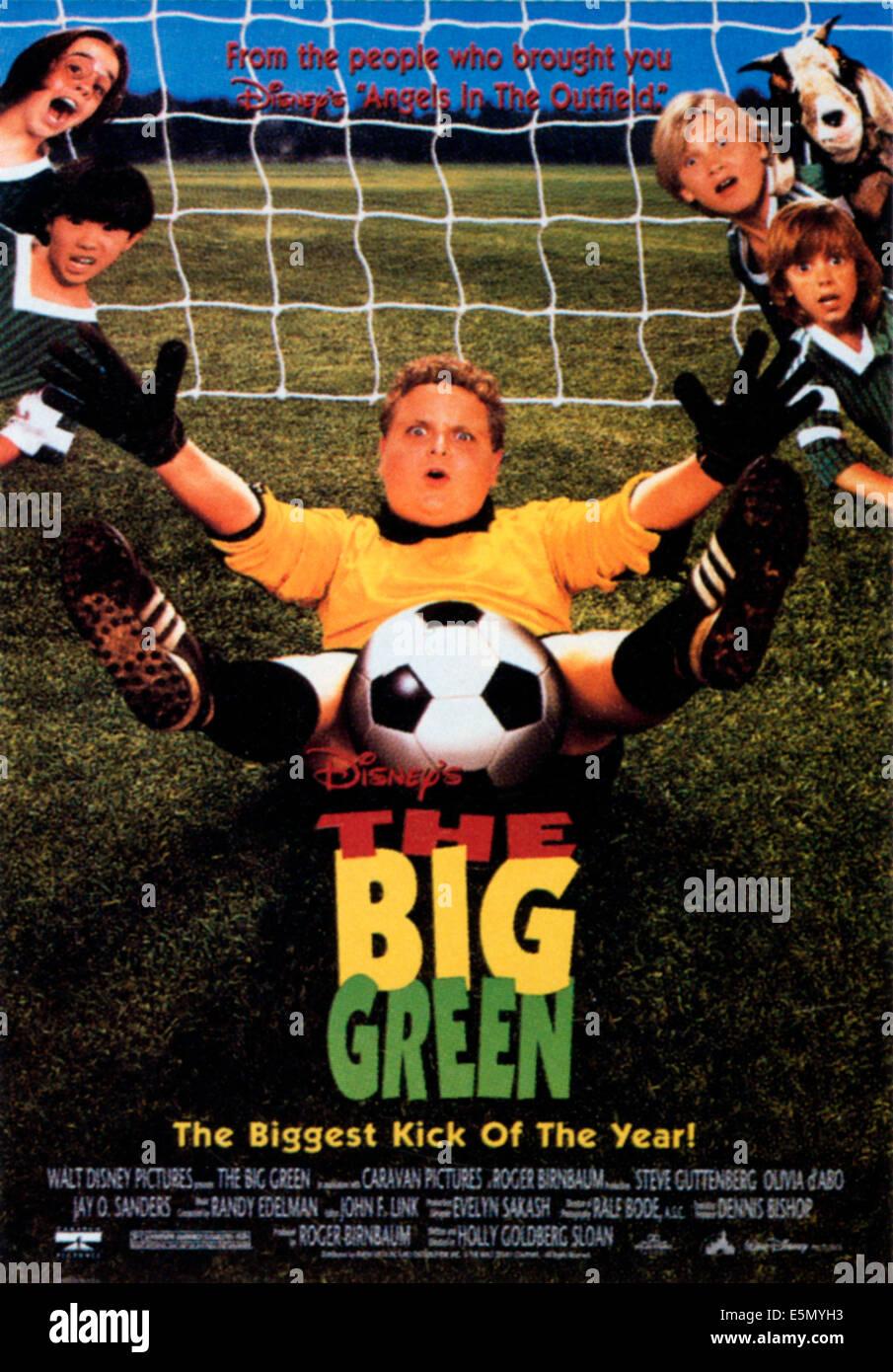 Il grande verde, a sinistra dall'alto: Elena Leopardi, Jimmy Higa, centro: Patrick Renna, dal top: Jordan Brower, Immagini Stock