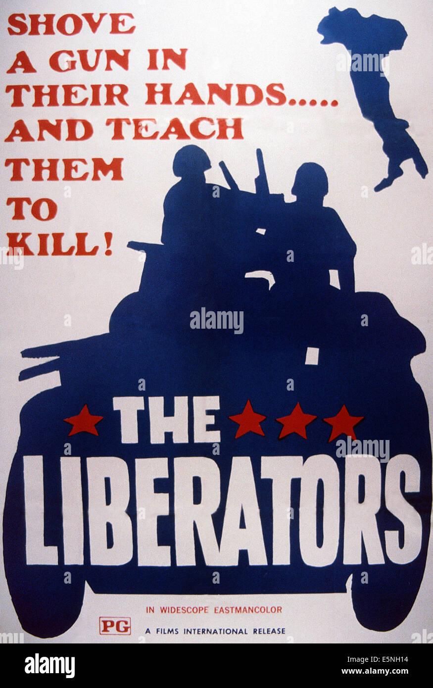 I liberatori, (aka il dito nella piaga), poster, 1969 Immagini Stock