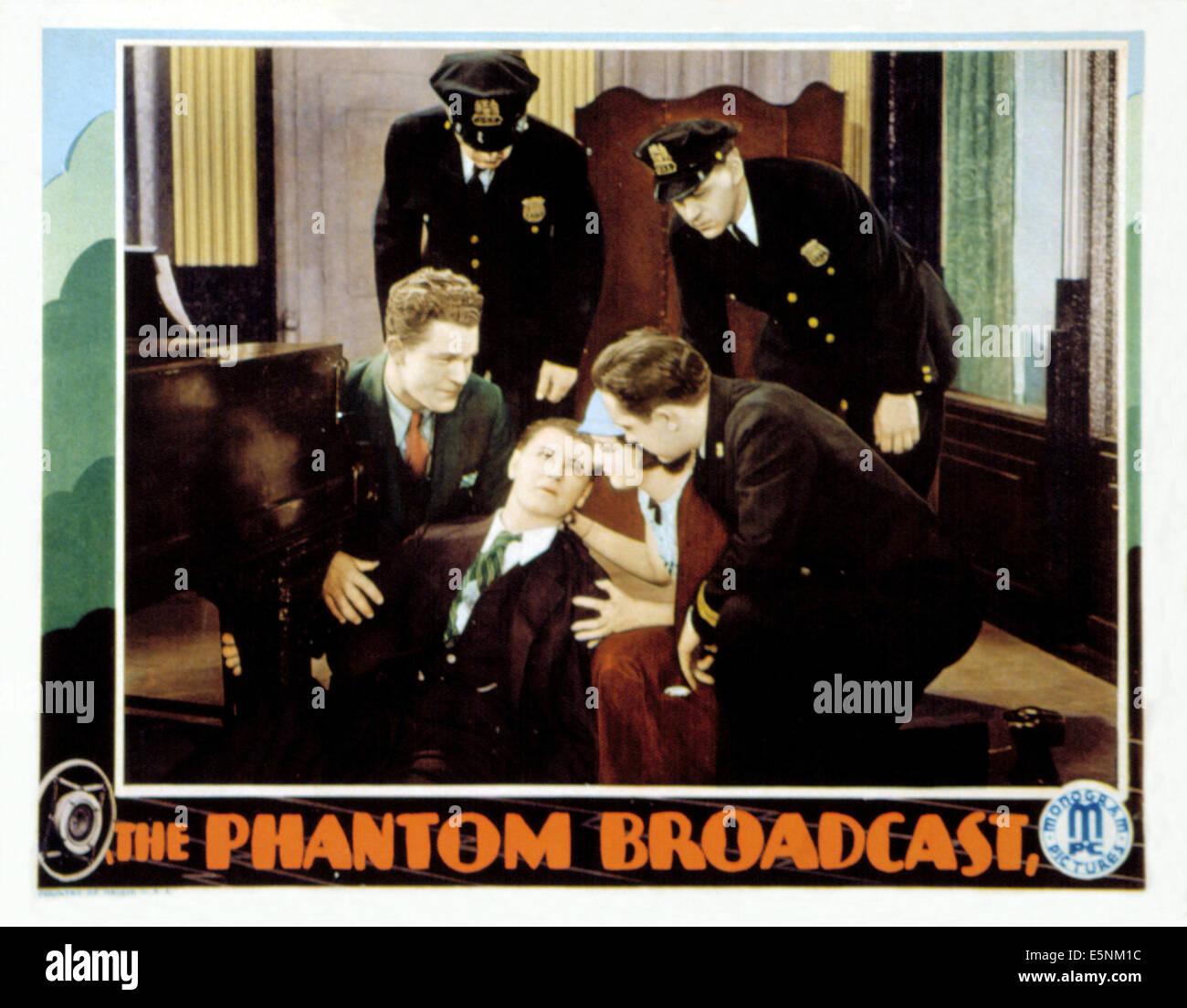 Il fantasma di broadcast, Guinn 'Big Boy' Williams, Vivienne Osborne, Ralph Forbes, 1933 Foto Stock