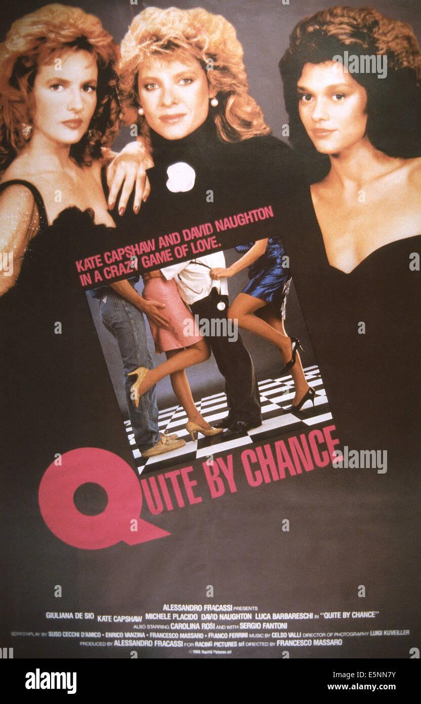 In maniera del tutto casuale, aka affari privati, aka TI PRESENTO UN'AMICA), US poster, Kate Capshaw (centro), Immagini Stock