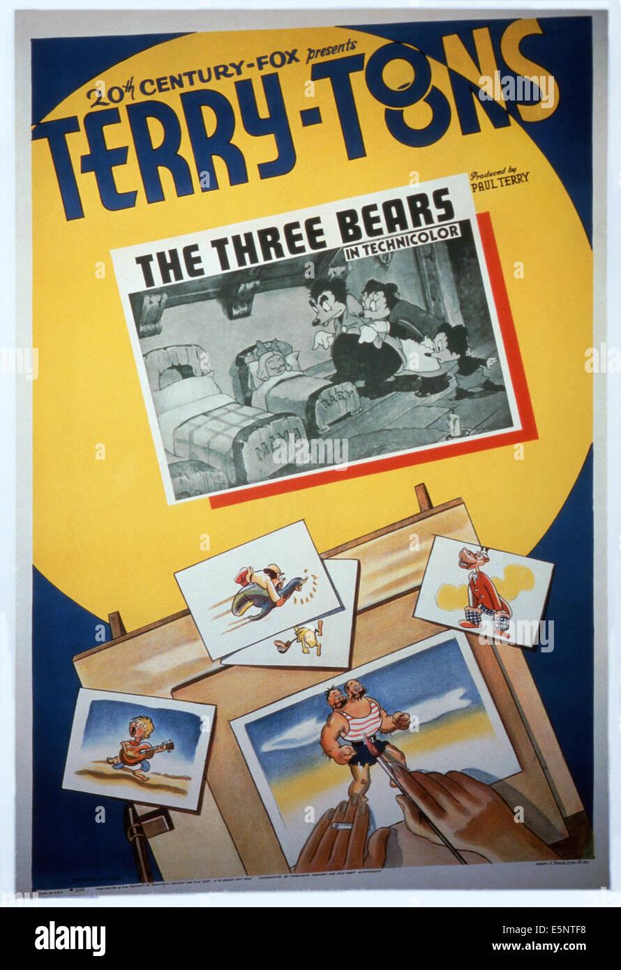 I tre orsi noi locandina 1939. tm & copyright ©xx century film