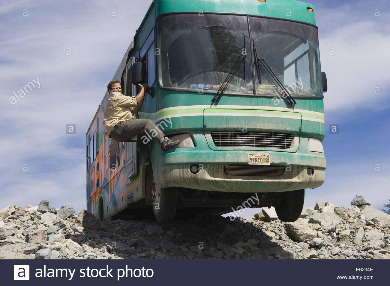 RV (aka Runaway Vacation (2006) - Robin Williams. La cortesia Granamour Weems collezione. Solo uso editoriale. Il Immagini Stock