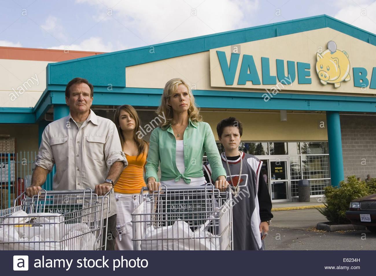 RV (aka Runaway Vacation (2006) - Robin Williams. La cortesia Granamour Weems collezione. Solo uso editoriale. Immagini Stock