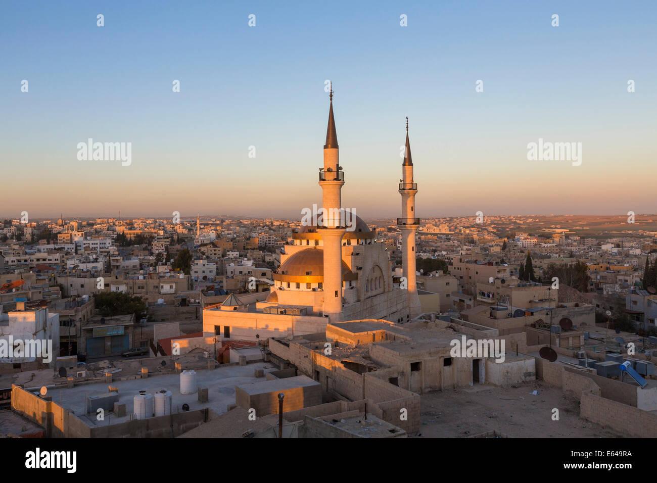 Madaba moschea, Madaba, Giordania Immagini Stock