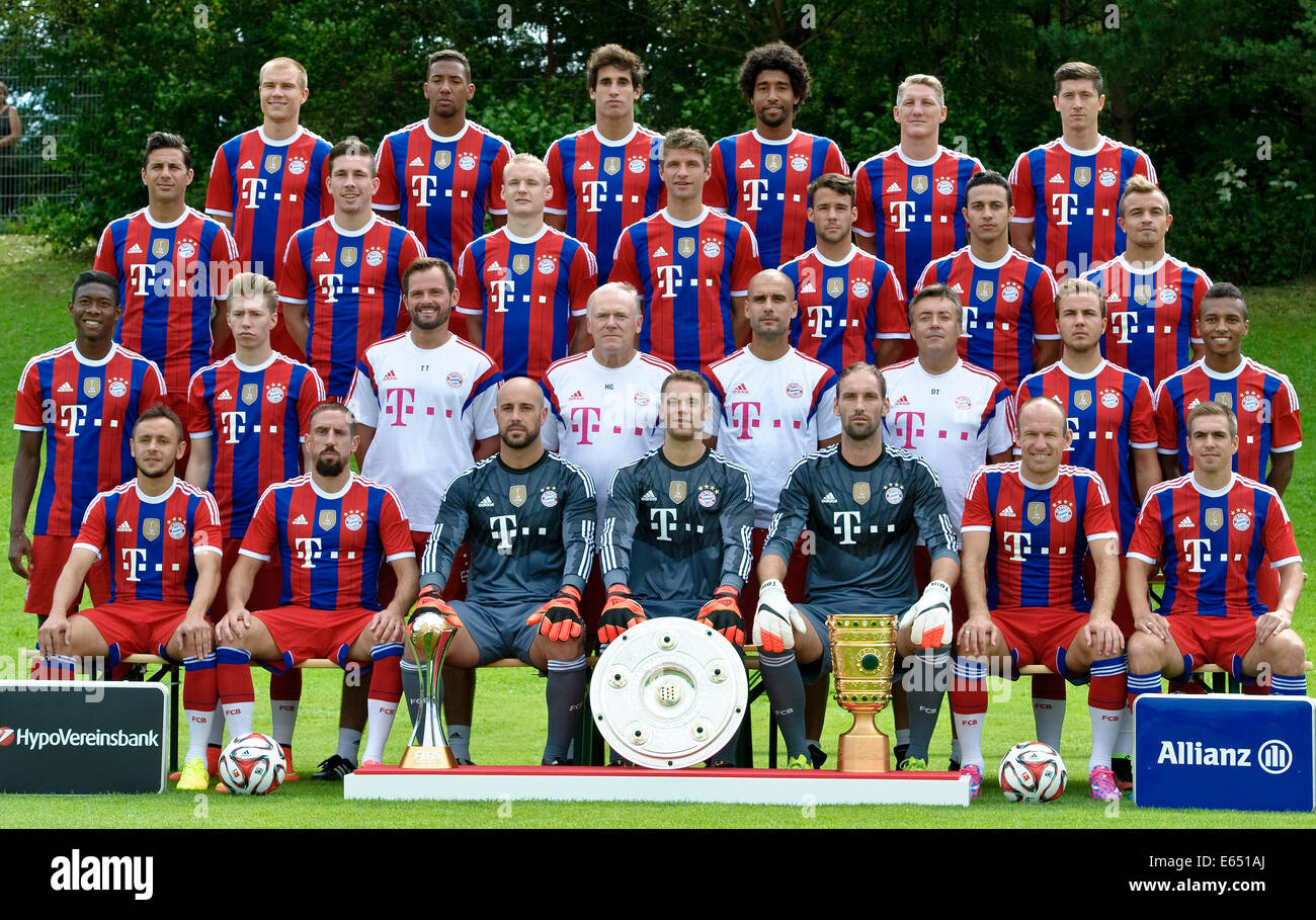 Calcio tedesco Bundesliga - Photocall FC Bayern Monaco di Baviera ...