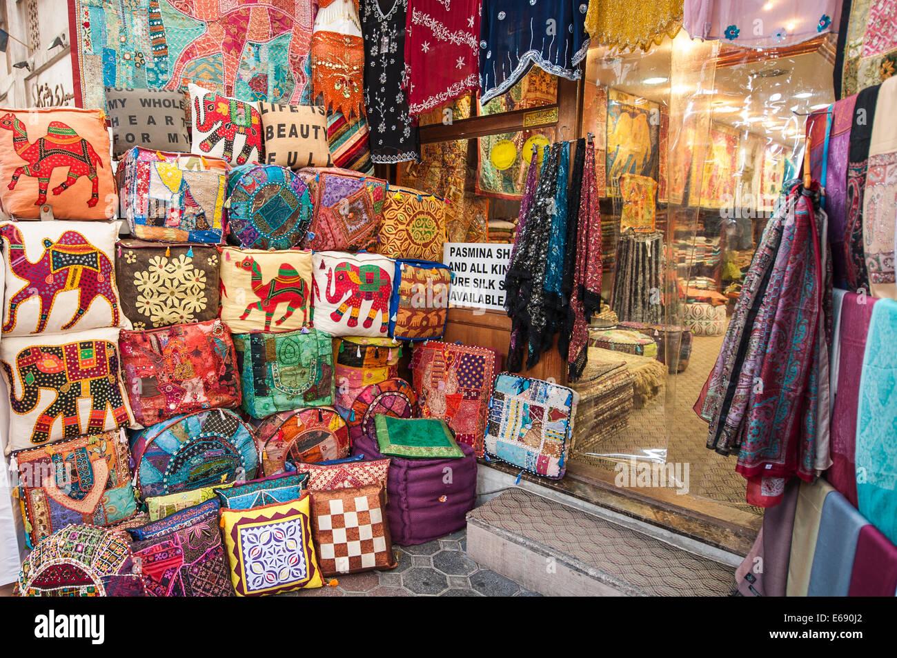 Cuscini Arabi.Cuscini Abbigliamento Abbigliamento Suk Di Tessili A Bur Dubai