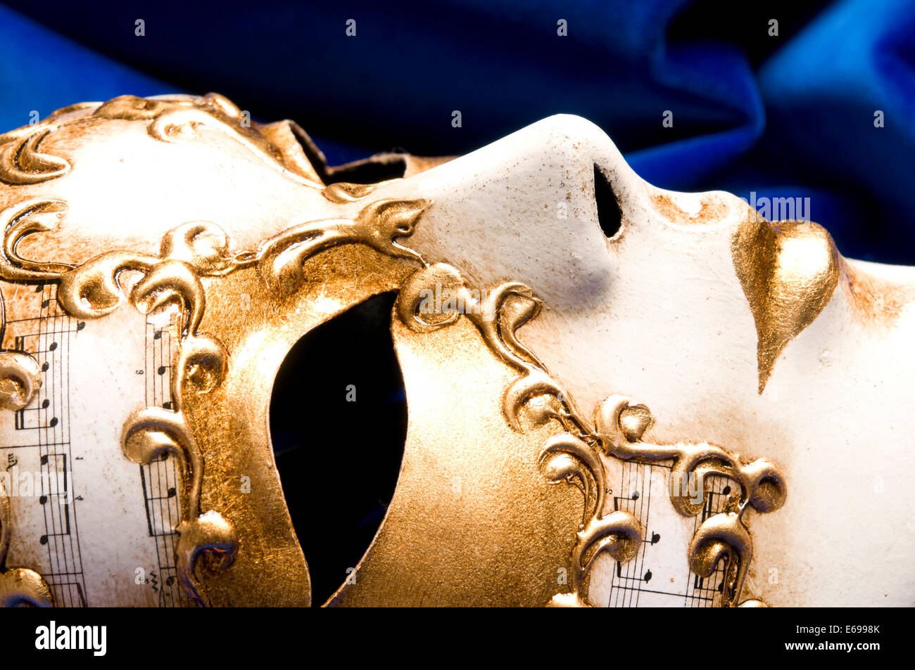 Carnevale veneziano mask Immagini Stock