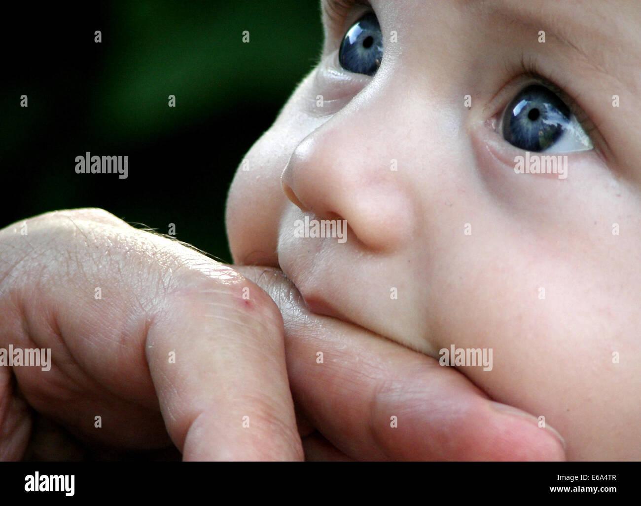 baby, dito Immagini Stock