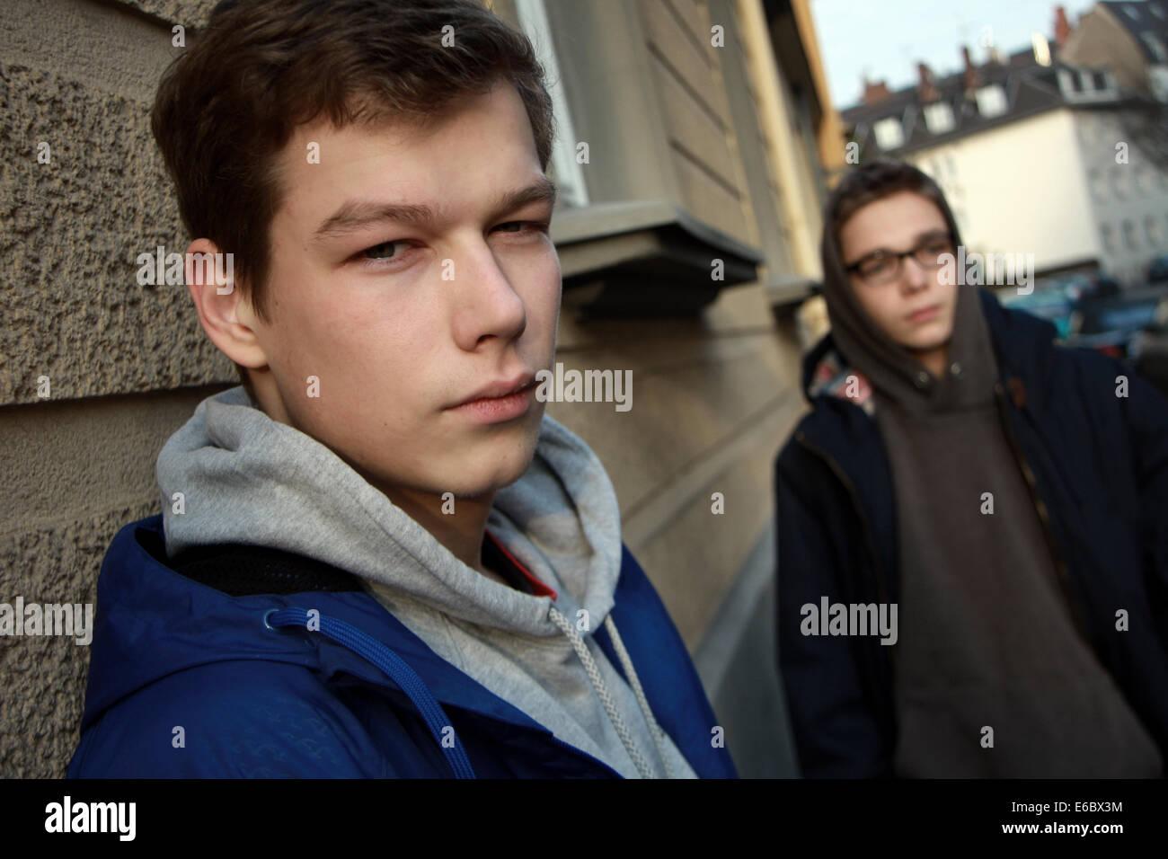 Ragazzo,adolescente,cultura giovanile Immagini Stock