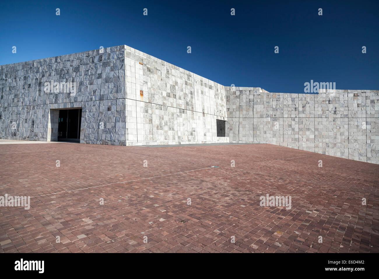 Santiago de Compostela. Cidade cultura galizia progettato da Peter Eisenman Immagini Stock