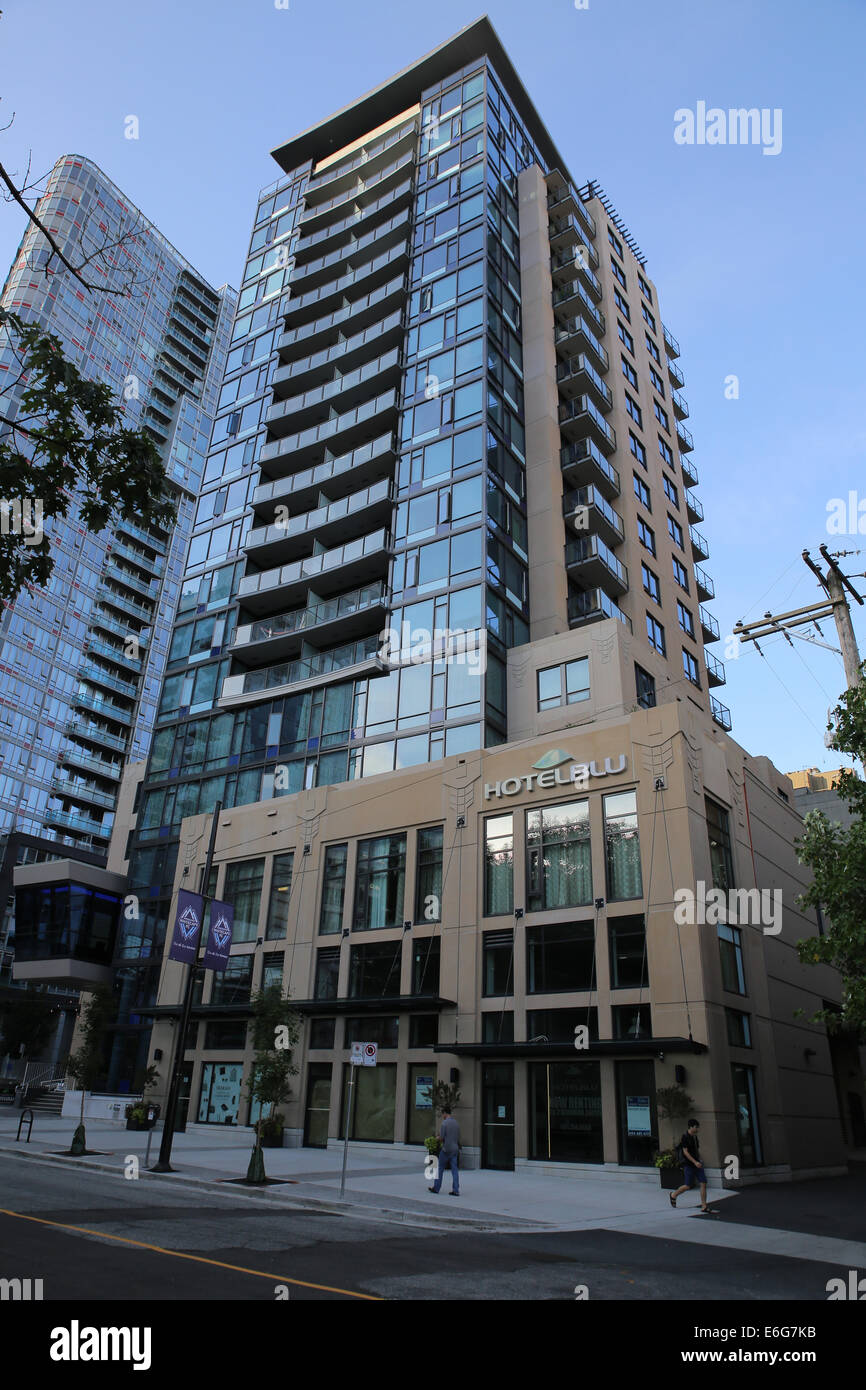 Vancouver hotel blu boutique hotel residence Immagini Stock