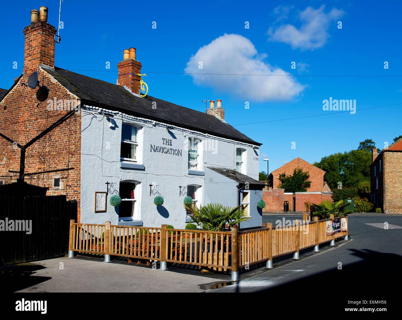 Il pub di navigazione a Ripon, North Yorkshire, Inghilterra, Regno Unito Immagini Stock