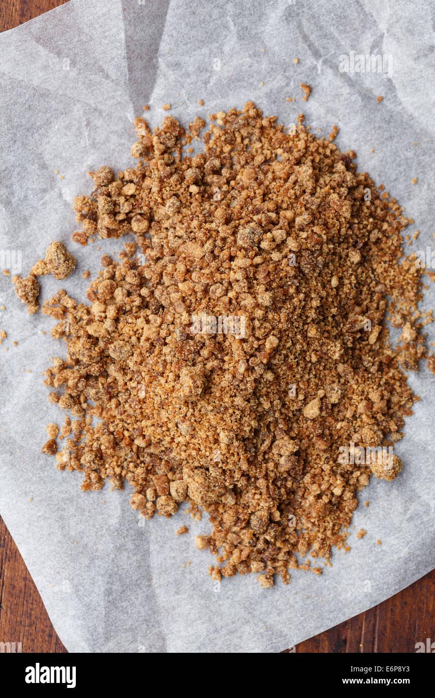 Organici di palme di cocco zucchero Immagini Stock