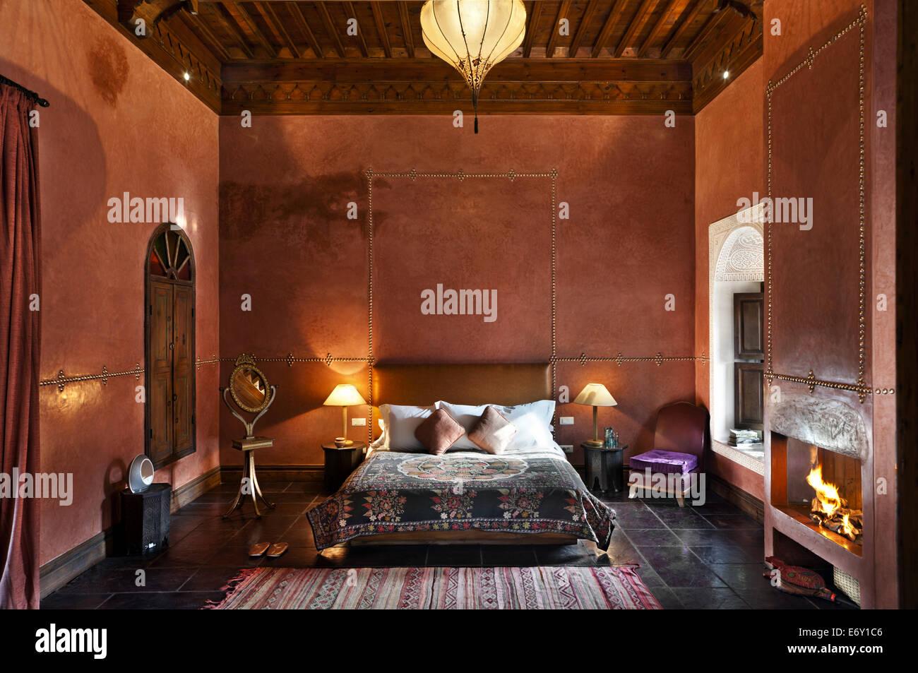 Camere Da Letto Marocco : Camera da letto nella camera el fenn marrakech marocco foto