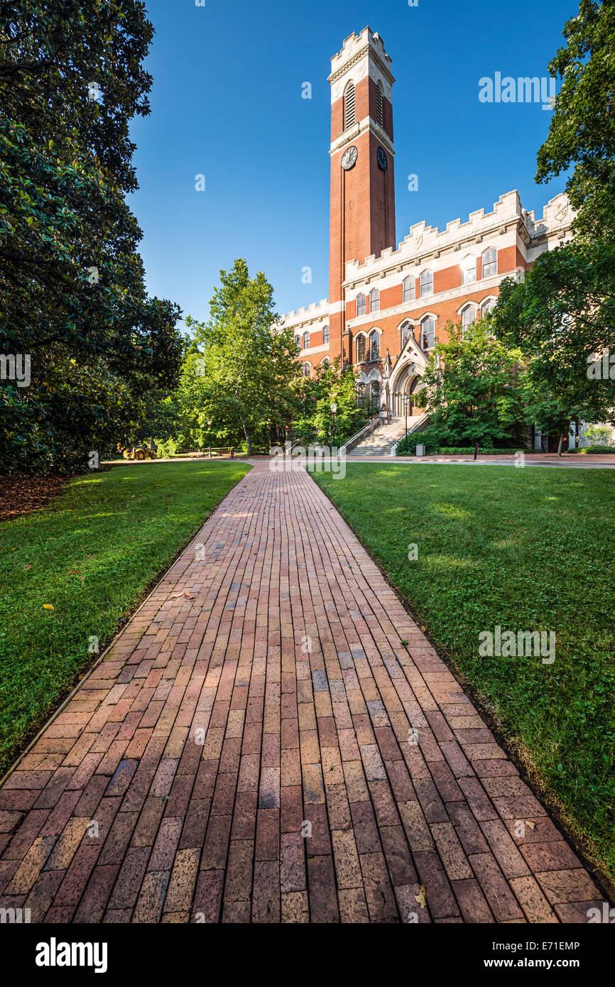 Il campus della Università di Vanderbilt di Nashville, Tennessee. Immagini Stock
